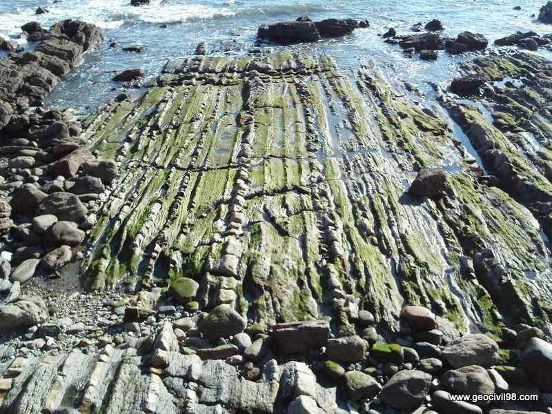 Formación Tereñes, departamento de geología de Geocivil 98