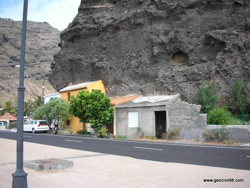 Depósitos epiclásticos, La Palma, geología, geotecnia, estudios geotécnicos, departamento de geologíade Geocivil 98