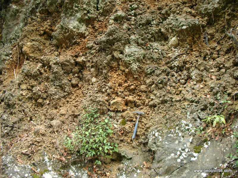 Escoria volcánica, La Palma, geología, geotecnia, estudios geotécnicos, departamento de geologíade Geocivil 98