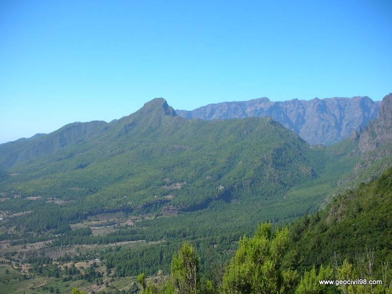 Pico bejenado, La Palma, geología, geotecnia, estudios geotécnicos, departamento de geologíade Geocivil 98