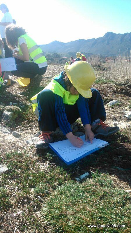 ¿Futuro geólogo?, geología, La Escuelona, Geotecnia Civil 98