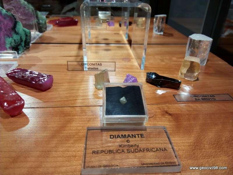 Diamante del Museo de Geología