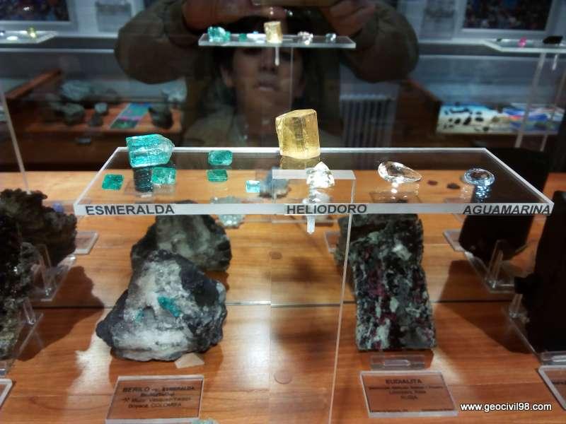 Esmeralda del Museo de Gelogía