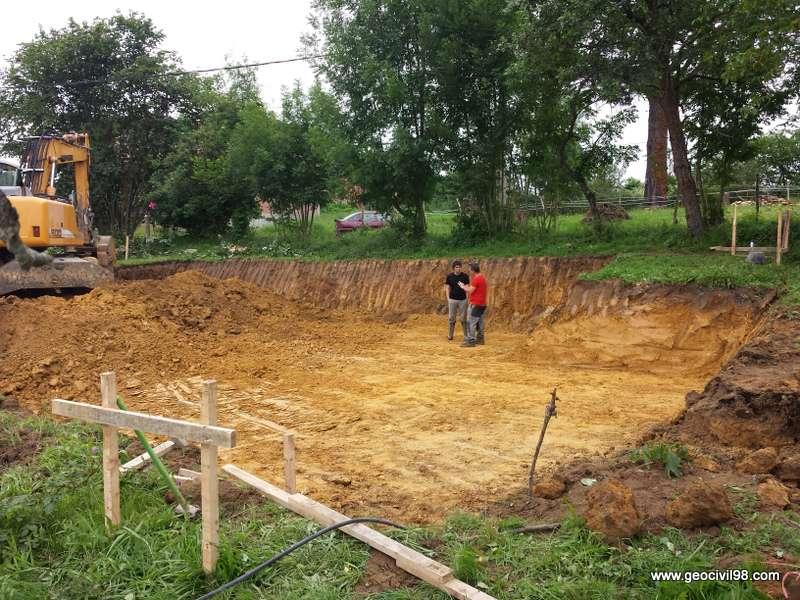 Supervisión de la excavación de El Robleu