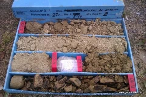 Geocivil 98 - Estudio geotécnico para el Principado de Asturias en Muros - Estudios geológicos, geotécnicos y ambientales en Asturias