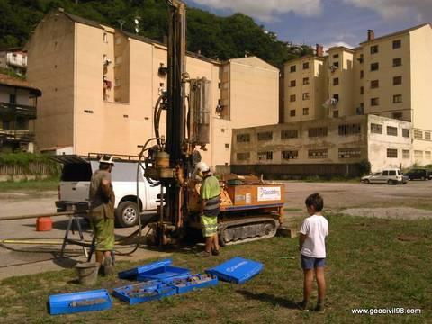 Geocivil 98 - Estudio geotécnico para el Principado de Asturias en Sotiello - Estudios geológicos, geotécnicos y ambientales en Asturias