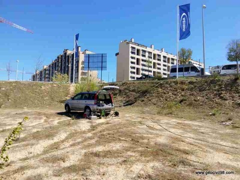 Geocivil 98 - Ensayos presiométricos en Valdebebas - Estudios geológicos, geotécnicos y ambientales en Asturias